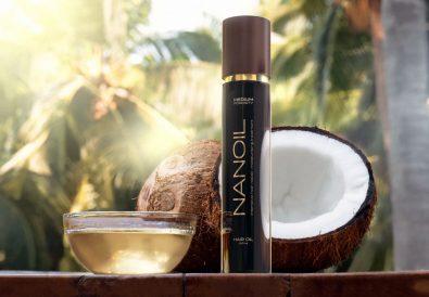 Numero 1 en cuidado del cabello Nanoil para cabello con porosidad media