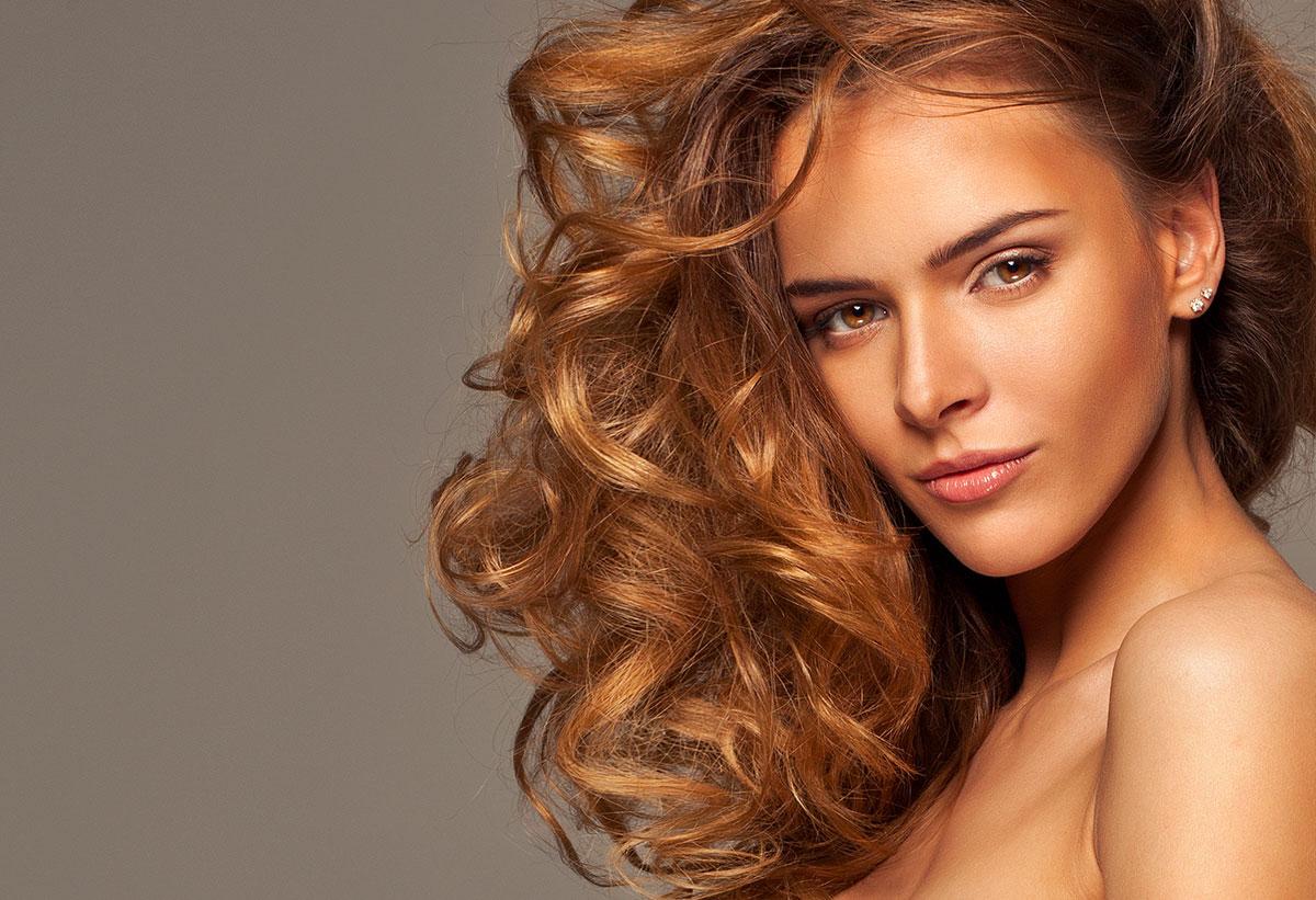 Pelo rizado - el mejor peinado